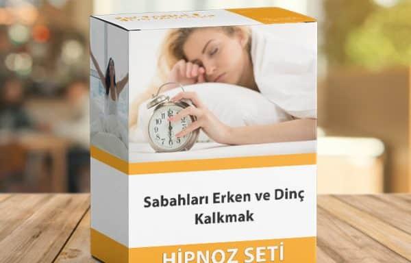 Sabah Erken ve Dinç Kalkma Hipnoz Seti